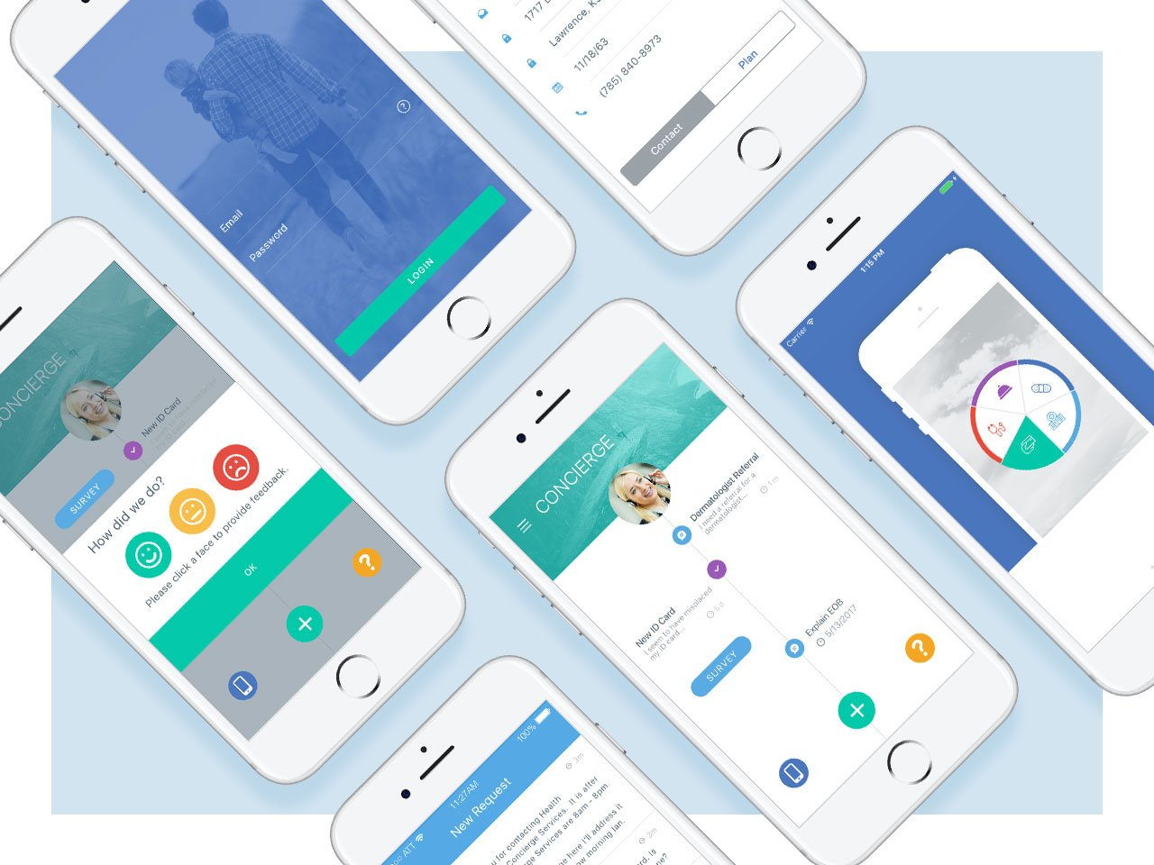 Kansas City App Design and health design